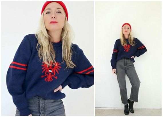 1980s Austrian Phoenix Wool Sweater // Unisex // 2
