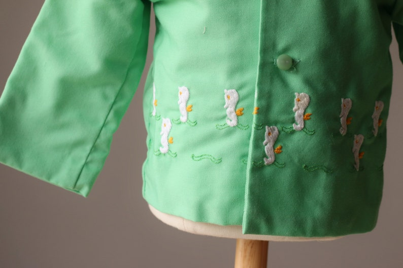 1960s Spring Seahorse Jacket size 6-12 months