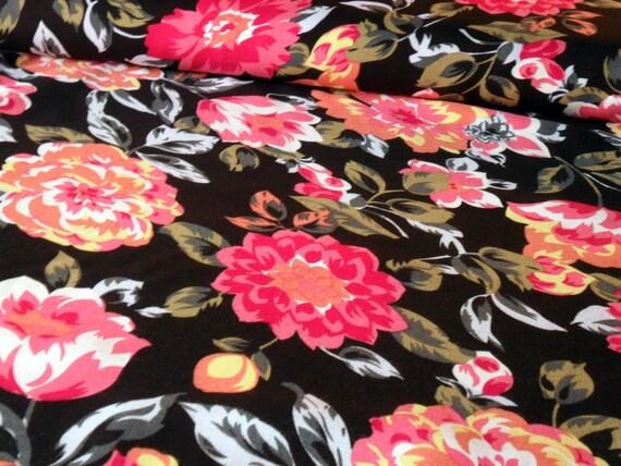 """Broderie Anglaise Abito Cotone Tessuto Materiale Pink /& White 45/"""" 112cm di larghezza"""
