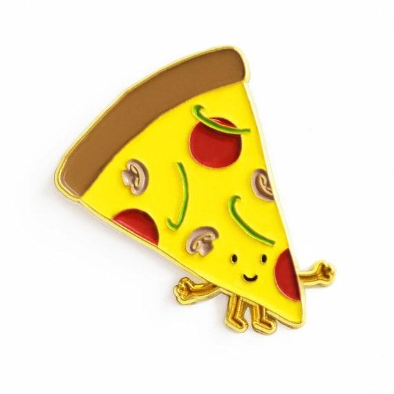 CHEESE PIZZA enamel pin