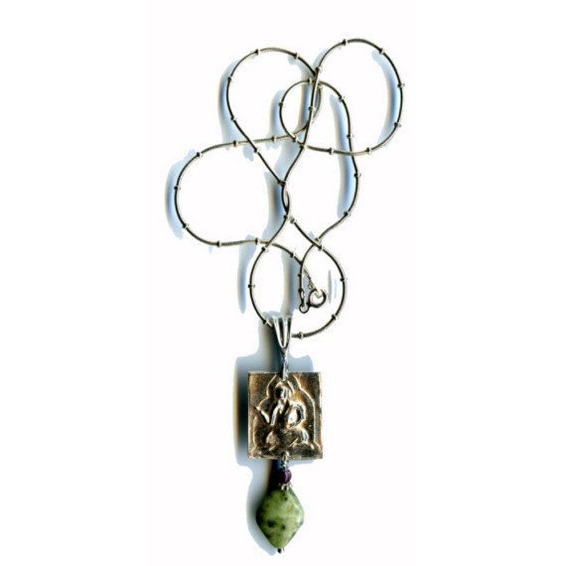 Fine Silver.999 Teaching Buddha Pendant