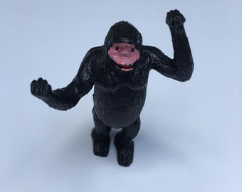 Plastic gorilla, Godzilla, monkey, ape figurine, made in hong Kong