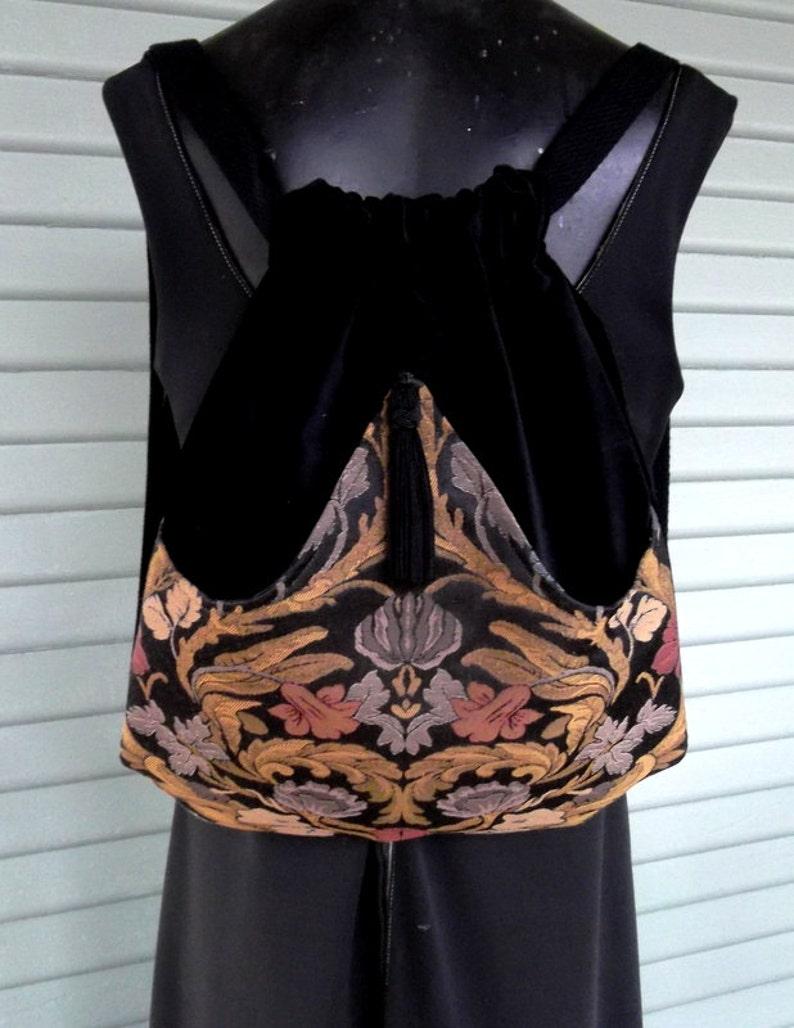 0039d83b642 Floral Backpack Renaissance Backpack boho backpack boho