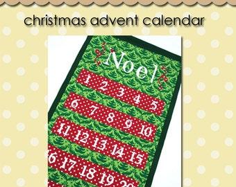 Christmas Advent Calendar - PDF Pattern