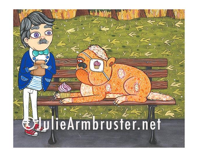Cupcake 8x10 Digital Print