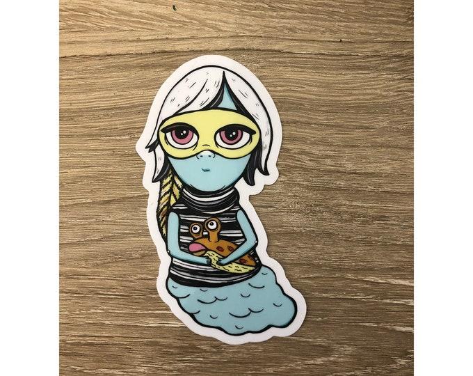 FIona Slugmuffin Vinyl Sticker