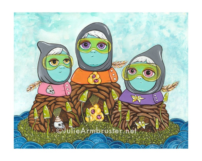 Nesting Dolls Digital Print