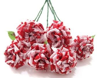 Swirly Heart Rose Bouquet
