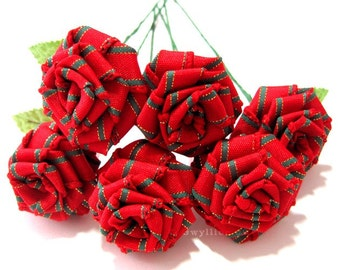 Classic Christmas Rose Bouquet - (6)