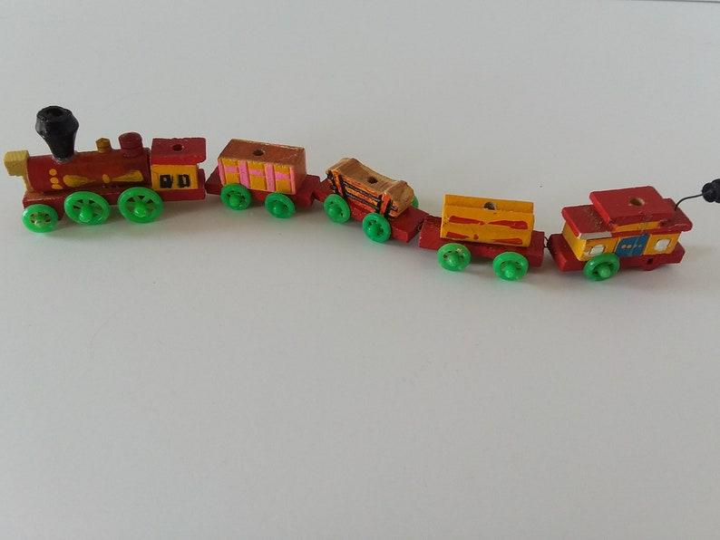 Vintage Train Birthday Cake Topper