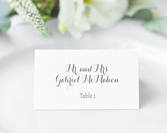 Escort & Place Cards