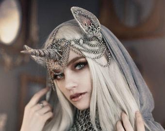 Star Unicorn Horn & Ear Headband
