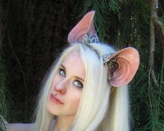 Fantasy Sculpted Mouse or Rat Ear Headband