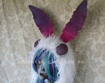 Cosmic Luna Moth Light-Up Soft Sculpture Hat