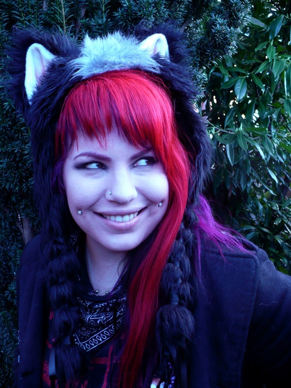 Honey Badger Soft Sculpture Ear Hat