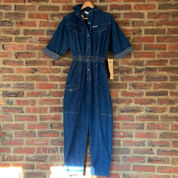 New w/ tags deadstock RARE Vintage 80s Blue Denim