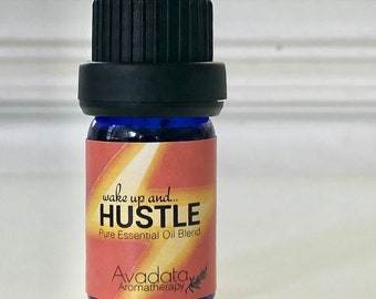 Hustle Blend Essential Oil - Womens blend for Energizing and Empowering