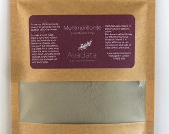 French Clay Montmorillonite - Green