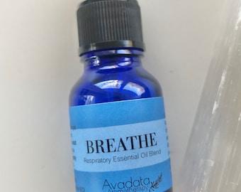 Respiratory Essential Oil Blend - BREATHE