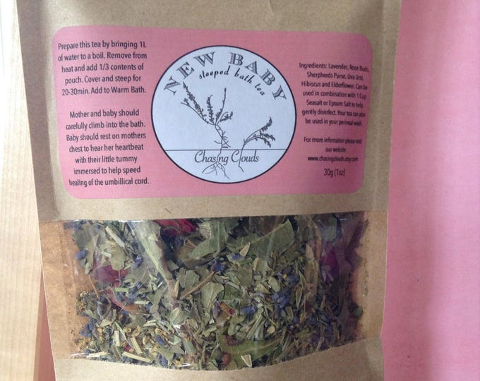 New Baby Post Partum Herbal Bath Tea
