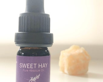 Sweet Hay Absolute Oil - Winter Limited Release