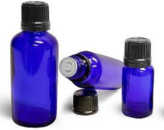 Essential Oil Bottle - Cobalt Blue