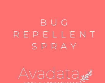 Insect and Mosquito Repellent Blend Essential Oil