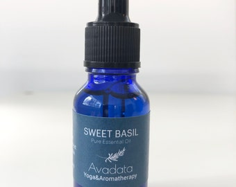 French Sweet Basil Essential Oil