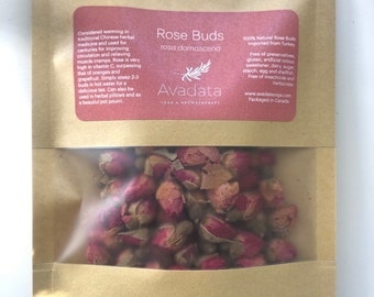 Red Rose Buds or Petals