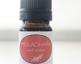 Root Chakra Oil - Muladhara 100% Pure Essential Oil Blend