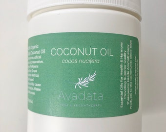 Organic Coconut Oil - Virgin