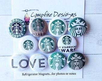 STARBUCKS Magnets SIREN LOVE - Refrigerator Magnets