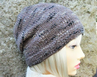 a437b189cab BOGLAND KNITTING PATTERN Slouchy Beanie Pattern for Women and Men Easy Knit  Round Slouch Hat Pattern  Easy Slouchy Beanie Winter Hat Pattern