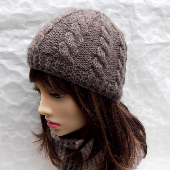 b1e4b527e95 KNITTING PATTERN INISHMORE Cable Knit Mans Beanie Cable knit