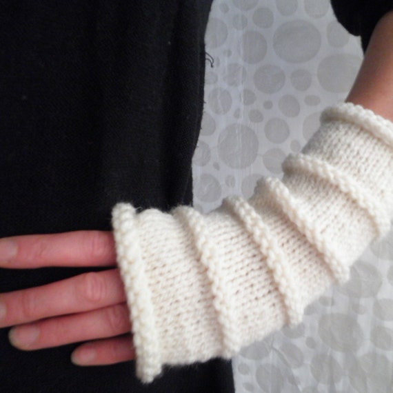 Knitting Patternoslo Fingerless Gloves Easy Knit Glove Etsy
