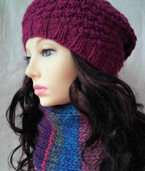 Knitting Pattern Isabella Cowl Chunky Ribbed Cowleasy Quick Etsy