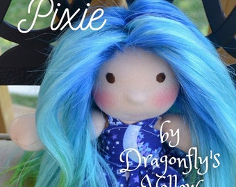 """Pixie - 10"""" - Pattern Only"""