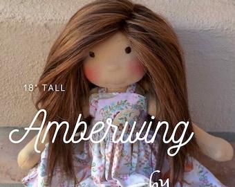 "Amberwing - 18"" - Pattern Only"