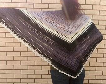 Harpy -  Crocheted Shawl