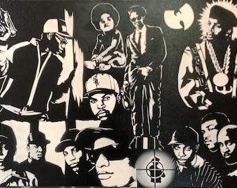 "Graffiti Montage ""90's Hip Hop Raised Me"""