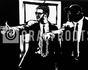 Run The Jules (RTJ x Pulp Fiction) 11x17