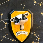 Hufflepuff Badger Harry Potter Faux Taxidermy Wall Mount