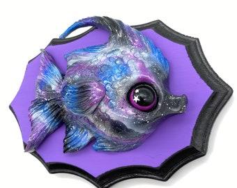 Galaxy Angelfish (purple)