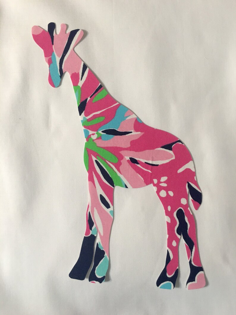 ce7d76cf8f0caf New Made To Order Giraffe Pillow made with Lilly Pulitzer | Etsy