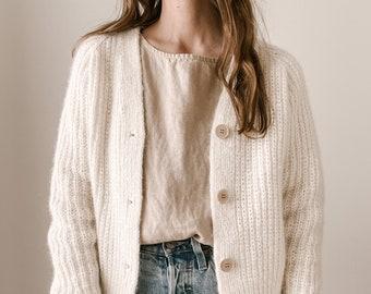 Knitting Pattern - Knit Sweater Cardigan, Classic Knitting Pattern, Knit Cardigan Pattern - The Oversized Seasons Cardigan