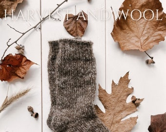 Harvest and Wool Issue II - Autumn Ebook - Lodge Sock Knitting Pattern - Sock Knitting Pattern