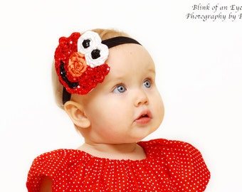 The Little Red Monster Headband