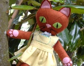 Miss Ginger Greeneyes and Pepper Pocketmouse PDF Pattern