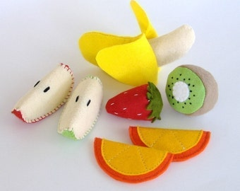 Felt Food Fruit - PDF  Pattern