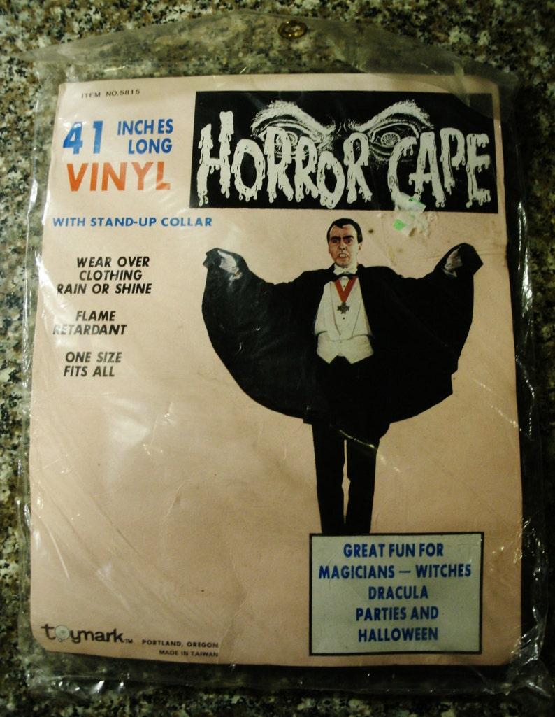 Black Vinyl Devil Cape